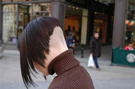 severe a line hair cuts 17 best images about frisuren on pinterest edgy