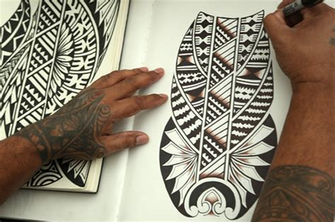 tattoo and siapo workshop with reggie meredith and