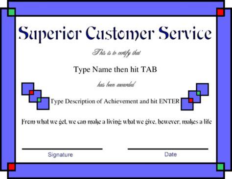 Customer Service Certificate Template 28 Images Customer Appreciation Certificate Template Customer Service Award Template