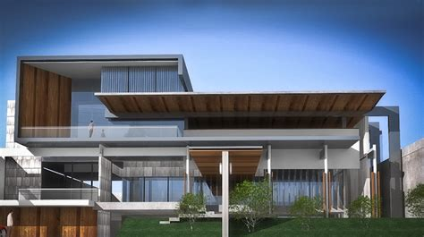 Gawang Kayu Kotak Minimalis residential raulrenandadesign s