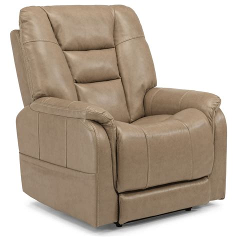 recliner with usb port flexsteel latitudes theo casual power recliner with power