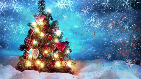animated christmas tree backgrounds animated background loop