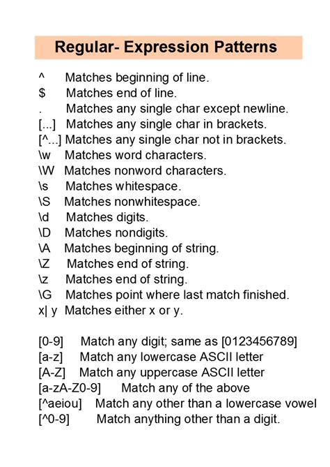 python regex pattern or regular expressions in python
