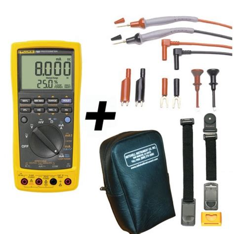 Multimeter Fluke 789 fluke 789 process meter with free meter hanging kit value