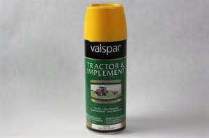 new valspar anti rust tractor paint cadet yellow 12 oz spray 018 5339 25 ebay