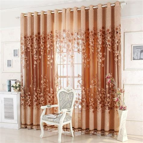 purple brown curtains ready made luxury curtains for living room bedroom tulle