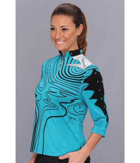 Layla S Brand Collection H M Blouse 1 sadock layla 3 4 sleeve top cyan tourquoise shipped free at zappos