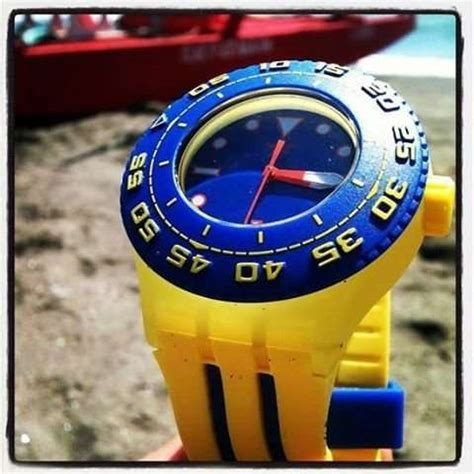 yellow submarine watches scuba