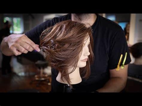 tutorial lob haircut hairstylegalleries com disconnected long bob haircut tutorial how to cut a lob