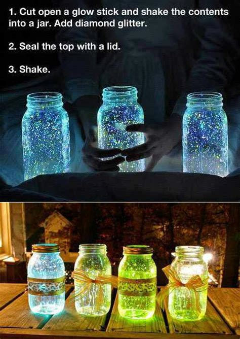 themes mekar jar fail glow in the dark mason jar diy pinterest fail
