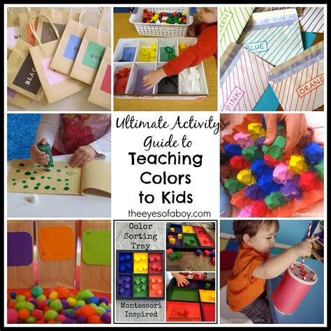 teaching colors to toddlers the ultimate activity guide to teaching colors to toddlers