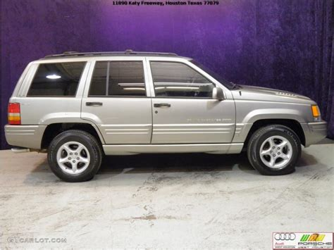 1998 light driftwood satin glow jeep grand 5 9 limited 4x4 45168340 photo 4
