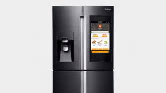 Samsung s ces 2016 family hub refrigerator is an over the top smart