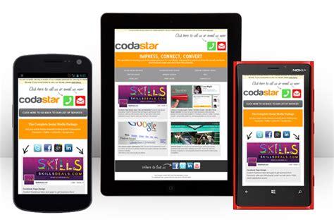 mobile web layout design 5 top tips for your mobile website design codastar ltd