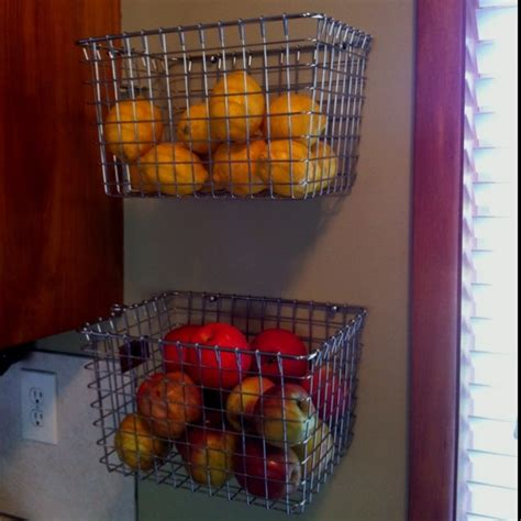 Simple Ideas For Hanging Wire Basket 17 Best Ideas About Hanging Fruit Baskets On Pinterest Hanging Wire Basket Kitchen Space