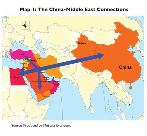 middle east map in 2020 china and the middle east more than the european