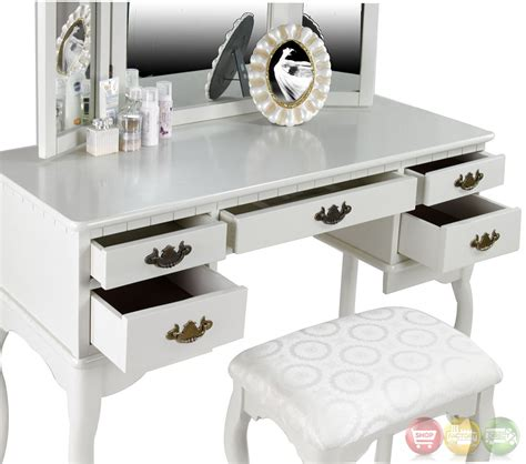 white vanity bench ashland chippendale white vanity table with bench