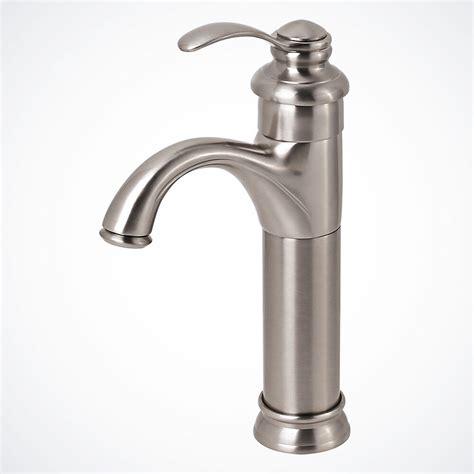 Bathroom Faucets Brushed Nickel - new brushed nickel modern bathroom vessel sink faucet