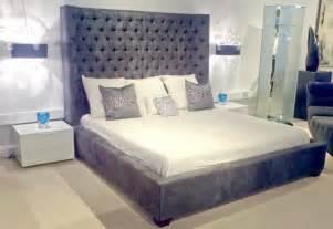 Large Headboard Beds Bed Modern Headboards Miami By Sklar Furnishings