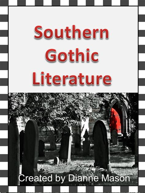 themes of southern gothic literature free essay on gothic van dijck info