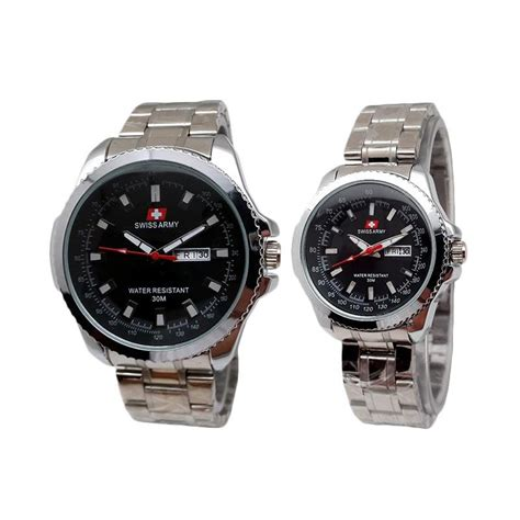 Swiss Army 2271 harga swiss army sa 4366ad jam tangan silver hitam pricenia