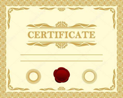 certificate template stock vector 20250057