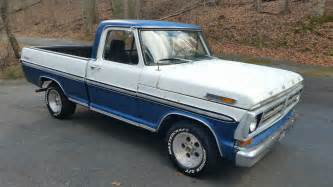 70 Ford F100 72 Ford Ranger F100 Shortbed 70 Mustang 351w 4 Speed Power