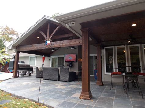 traditional patio covers patio covers traditional patio houston by wood
