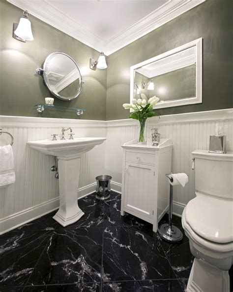 black floor bathroom ideas black marble flooring capitol granite
