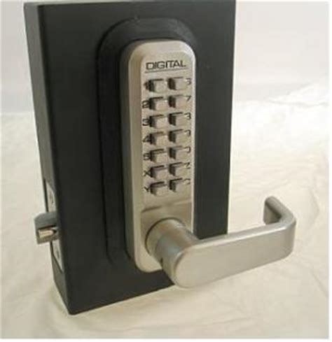 Lockey 2835DC Keyless Mechanical Digital Double Sided ... Lock And Key Parts