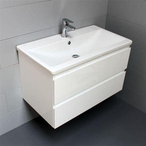 meuble look 83 2 tiroirs et vasque c 233 ramique atlantic bain