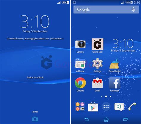 xperia home launcher apk install xperia z3 home 7 0 a 0 14 launcher album 6 3 a 0 10 message clock app