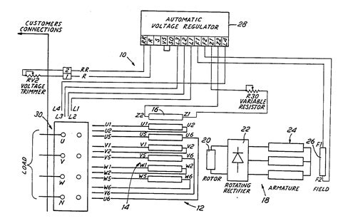 drawing the schematic diagram of automatic voltage