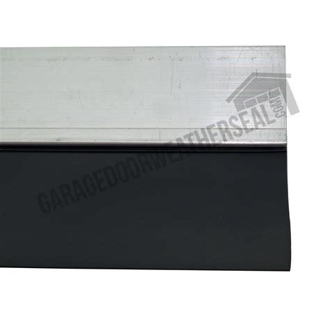 garage door edge seal 2 quot garage door retainer with edge seal garage door weather seal