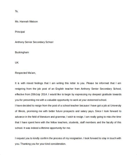 College Principal Letter Format Formal Letter To Principal Formal Letter Template