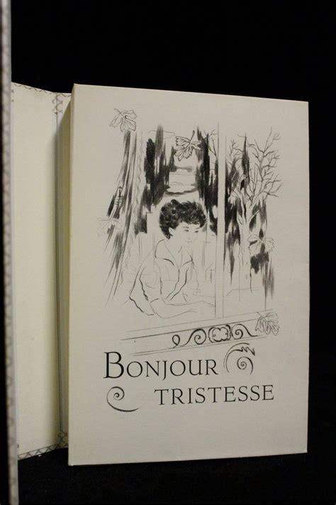 libro bonjour tristesse french edition sagan bonjour tristesse edition originale com