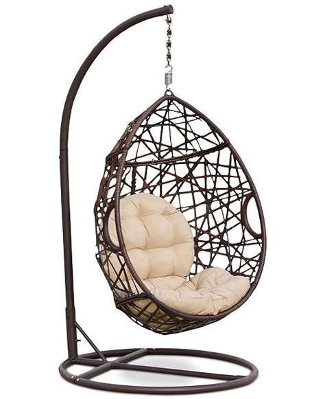 swingasan chair reviews furniture dustan wicker swing chair ship reviews