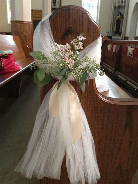 bows for church pews wedding how to make search wedding church pew decorations