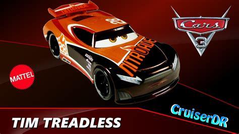 Cars 3 Tim Treadless disney pixar cars 3 brand new diecast tim treadless team