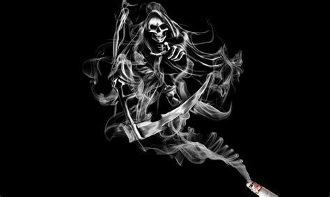 white facing weed fonds d ecran la mort fum 233 e squelette fantasy t 233 l 233 charger