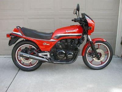 1982 Kawasaki Gpz 550 Specifications