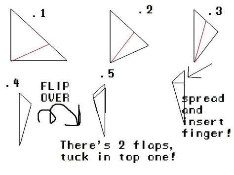 How To Make Paper Fingers - how to make origami claws 2018