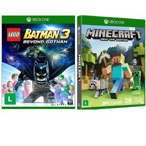 tutorial lego batman xbox lego batman 3 minecraft xbox one rcr games r 199 99