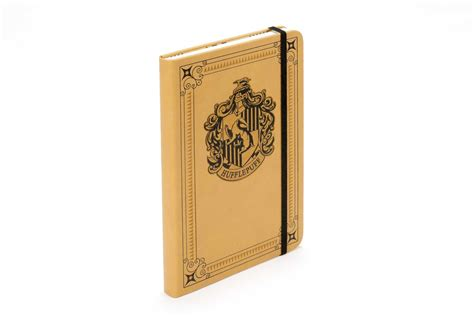 harry potter hufflepuff ruled notebook books harry potter hufflepuff hardcover ruled journal book by