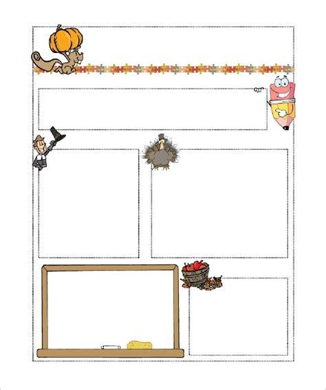 class newsletter template free classroom newsletter template beepmunk