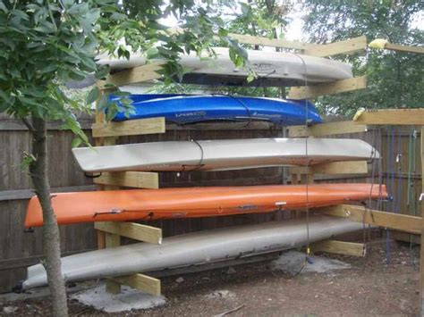 how to build a boat storage rack kayak storage rack plans woodworking projects plans