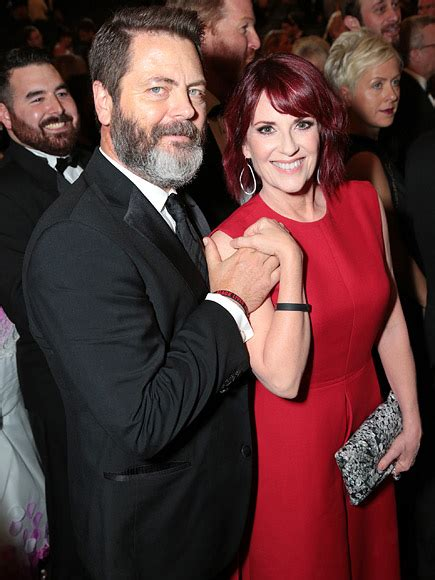 nick offerman the bachelor megan mullally husband nick offerman is the reigning