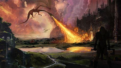 film fantasy hobbit picture the hobbit dragons warriors fantasy fire movies