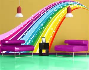 Ebay Wall Murals wall decal no 620 rainbow wall sticker colours spectrum