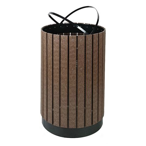 Decorative Trash Cans by Rubbermaid Fgh55c 63 Gal Outdoor Decorative Trash Can